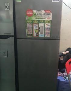 Tủ lạnh Sharp inverter SJ-X281E-DS MỚI 95%
