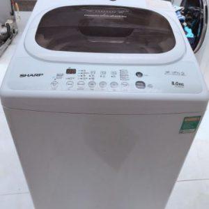 Máy giặt cũ Sharp 8kg mới 90%