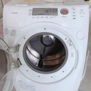 Máy giặt Toshiba nội địa Nhật TW-Z380L(W) giặt 9kg sấy khô 6kg mới 95%