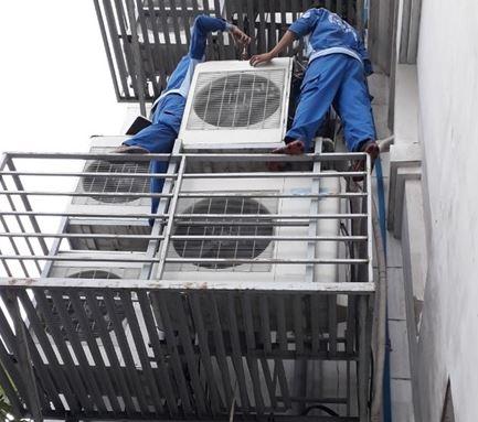 Tháo lắp máy lạnh giá rẻ tại Sài Gòn