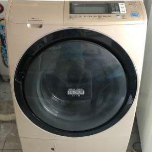 Máy giặt Hitachi nội địa Nhật BD-S7500 giặt 9kg sấy khô 6kg mới 95%