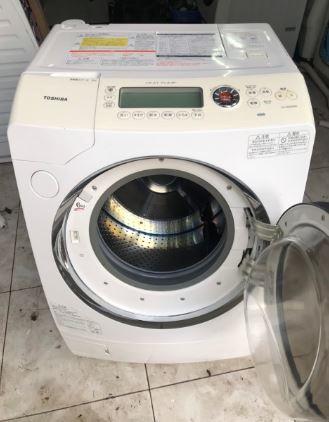 Máy giặt Toshiba nội địa Nhật TW-Z9500R(W) giặt 9kg sấy khô 6kg mới 95%