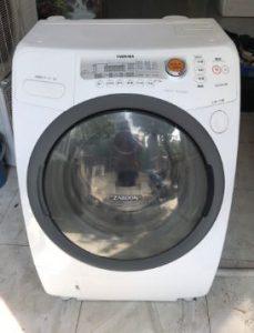 Máy giặt Toshiba nội địa Nhật TW-Z370L(W) giặt 9kg sấy khô 6kg mới 95%