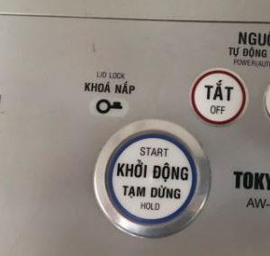 Máy giặt cũ Toshiba inverter 13kg AW-SD130SV tiết kiệm điện