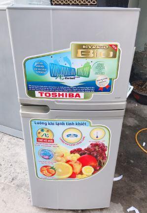 Tủ lạnh cũ Toshia GR-R13VPT 120l nhỏ gọn