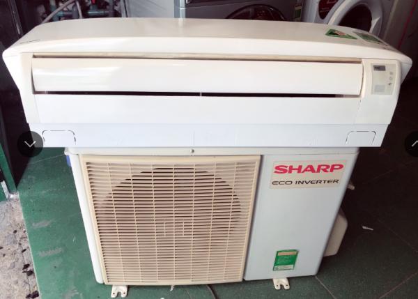 Máy lạnh Sharp 1,5Hp inverter tiết kiệm điện mới 85%
