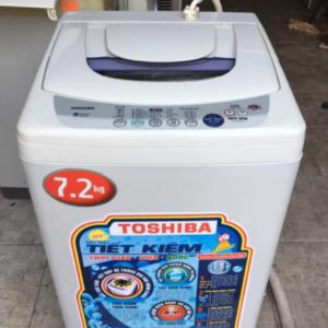 Máy giặt cũ Toshiba (7.2kg) Aw-8570SV lồng inox không rỉ giá rẻ tại Sài Gòn