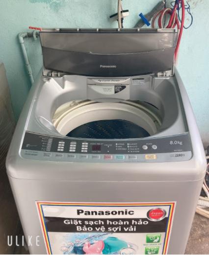 Máy giặt cũ Panasonic NA-F80H1 8KG