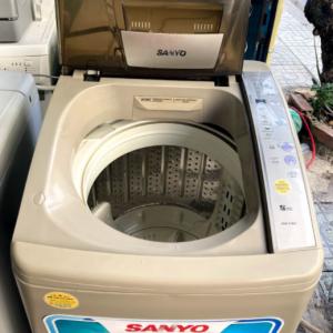 Máy giặt cũ Sanyo ASW-U780HT 7.8KG THÙNG NGHIÊNG