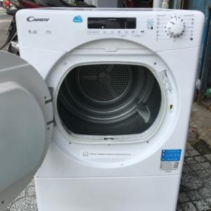 Máy sấy quần áo cũ Candy 9 kg CS V9DF-S mới 90% giá rẻ tại Sài Gòn