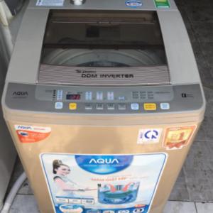 Máy giặt Aqua (9kg) inverter tiết kiệm điện mới 85%